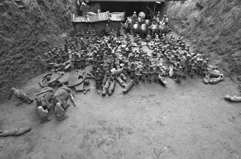 Где гробница? Терракотовая армия, археологи, китай, находка, раскопки