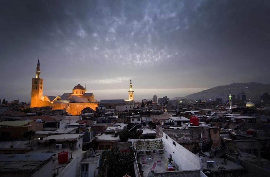 Дамаск: Блеск стали и запах пороха
